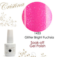 berry gel - Cristina UV Gel Nail Polish Colors Glitter Berry Rose Pink