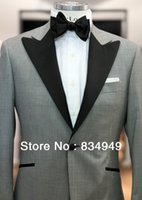 big checkers - CUSTOM MADE TO MEASURE mens BESPOKE suit TAILORED big checker suits with black lapel Jacket Pants Tie Pocket Square