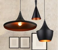 UL clothing store - Pendant lamps retro creative IKEA Nordic ancient instruments aluminum bar Coffee horn chandelier restaurant hall clothing store three single