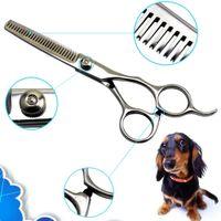 Wholesale inch Pet Dog Cat Professional Grooming Hair Thinning Scissors Shears Pet KK Y