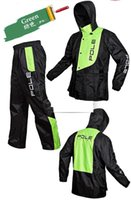Wholesale Outdoor Motorcycle Bicycle Cycling Clothes Jacket Raincoat Poncho Set