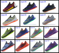 Cheap 2015 Kevin Durant KD 8 Basketball Shoes V8 Bright Crimson With Tick KD8 Sports Shoes Discount Leather Men Basketball Sneakers Best Price