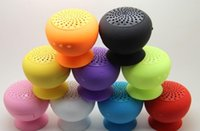 suction cup - waterproof mushroom bluetooth speaker Wireless Colorful Mushroom Suction cup Speakers with Mircophone Calls Handsfree