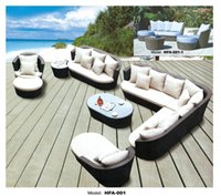 wicker furniture - Large Size Outdoor Sofa Set New Design Garden Furniture Large Rattan Sofa Set Wicker Patio Set Outdoor Furniture Set Seat