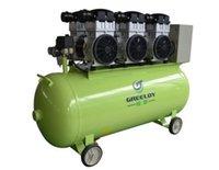 Silenciosa Oil Free Oilless <b>Air Compressor</b> 160L Tanque 4800W 990L / min DR-GA-163 One By Três para Cadeira Dental