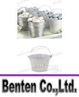 White tin pail - LLFA7401 Chocolate Candy Pail Mix Tin pails Mini Pails wedding favors mini bucket tin box favor box gift box