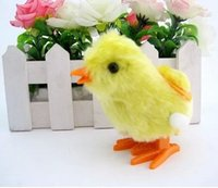baby chick toy - Chain chick plush chicken wind up chick toys baby toy