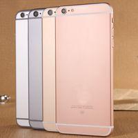 6s i6s 1: 1 teléfono celular de doble núcleo MTK6572 Mostrar 1GB 64GB 4.7inch 5.5inch I6s Android llamada de teléfono 4.4 3G GPS Mostrar 4G