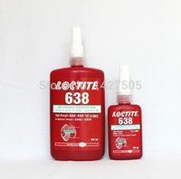Cheap Free shipping 10pcs lot Loctit 638 glue High viscosity anaerobic adhesive 638 50ml Industrial glue