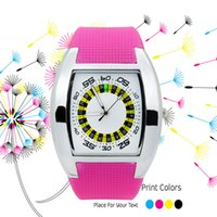 Wholesale 2016 HBY The new dashboard new waterproof multicolor literal women s quartz wrist watch from china