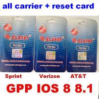 gpp iphone 3g - GPP s unlock card GEVEY R SIM Unlock card for iPhone S L1S3 ios ios x ios GSM G G ATT VERIZON SPRING all carrier