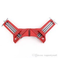 Wholesale 90 Right Angle Clamp MM Mitre Clamps Corner Clamp Picture Holder Woodwork A3