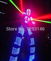 other bar robot - 2015 LED Clothing Light suits Kryoman robot Bar KTV LED Robot suits david guetta robot LED Costume