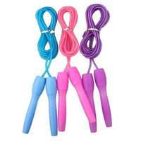 Wholesale Crossfit Fitness Equipment Adjustable PVC Rope Length Jumping Bodybuilding Exercise Skipping Rope