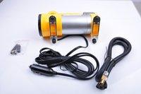 car mini compressor air pump - Air Compressor PSI V LED Light Car Air Pump Auto Tire Tyre Inflator Air Filler Mini Compressor Pump