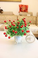 artifical fruits - 1601 heads plastic home decorative flowers fruits christmas party decoration artifical flowers pepper arrangement A092