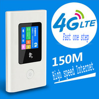 Wholesale Mobile Device Portable LR002C ChinaNet mode Wi Fi Modem Support WCDMA HSPA Unlock Hotspot Wireless MiFi G WiFi Router with SIM Card Slot