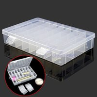 plastic storage box - G104Adjustable Plastic Compartment Storage Box Jewelry Earring Bin Case Container