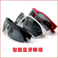Wholesale Magic Johnson Apple Android smart wearable device sports smart sunglasses glasses with Bluetooth headset