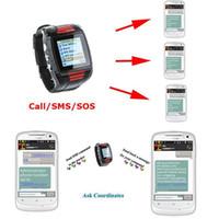 gps kids tracker watch - TK209 Gps Watch Quad Band Global Watch Locator GPS Kids Tracker Watch GSM GPRS Watch Tracker SOS Two Way