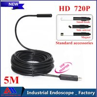 Wholesale The First HD P USB endoscope mm lens LED IP67 Waterproof inspection Camera Borescope M mini computer camera A3