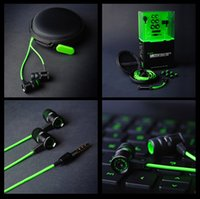 bass pro sales - Hot sale Razer Hammerhead Pro In Ear Earphone With Microphone Gaming Headset Noise Isolation Stereo Bass mm Headphone