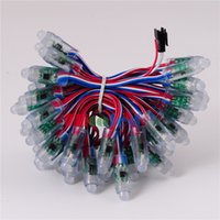 b w pixel - mm WS2811 IC Led Pixel Module String Digital RGB Full Color R G B W Wire Waterproof IP68 DC5V