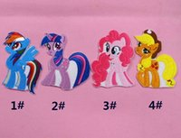 embroidery machine - My little pony patch Quilt Accessories Cartoon clothing soup paste patch Machine embroidery