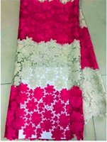 african fabric stores - 4L NG0999 African water soluble guipure lace fabric for wedding yards In the store
