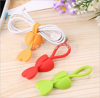 Wholesale Love shape silicone Food bag strapping tape HF11 order lt no track