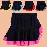 Wholesale Children Dancewear Princess Dress Bust skirt Girls Costume Fluffy skirt Children Dance Clothing Latin Dance skirt Pleated skirt Latin dress