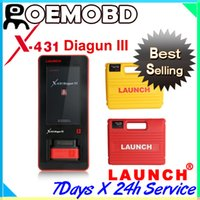 Wholesale Newest Genuine Launch X431 Diagun II diagun auto diagnotic Scanner Multi language years warranty diagunIII diagun3 GIFT X431 IDiag