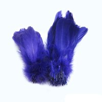 Wholesale Loose Purple Soft Rod Goose Feathers inches cm RP