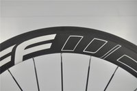 bicycle parts campagnolo - Top Quality White Decal FFWD Road Bike Bicycle Wheelsets Wheels Campagnolo C K Carbon Wheels Clincher Rims Bicycle Parts Black Spokes