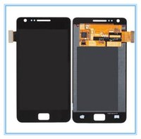 For Samsung s2 i9100 - 1PC For Samsung Galaxy S2 i9100 LCD Display Touch Screen Digitizer Full Assembly White and Black For Samsung Galaxy S2 GT i9100 LCD