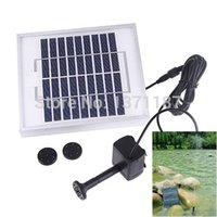 battery powered lift - 5 W Solar Powered Pond Pool Pump Battery Control LED Solar Water Pump M Lift Max