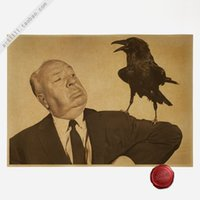 alfred hitchcock - Alfred Hitchcock Classic Movies Vintage Paper Poster Wall Painting Home Decoration X30 CM