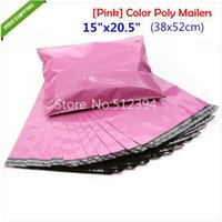 big envelop - x20 inches x52cm Pink Color Big Poly Bags Self Sealing Plastic Shipping Mailers Courier Bags Plastic Envelop Shipping Bag