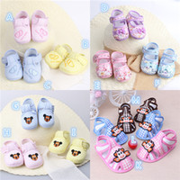 Wholesale Children S Footwear Wholesalers - Baby Girl Shoes Sandals Retail 2015 Girls Fowers Bow Baby Toddler Shoes 11cm 12cm 13cm Spring Autumn Children Footwear First Walkers Baby S