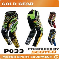 atv pants - 2016 Scoyco P033 pantalon moto Motocross Pants Motorbike ATV Off Road Trousers BMX Motorcycle Racing MX dirt bike downhill bike