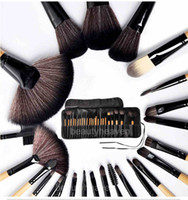32 big make up bags - Big Discount Professional Cosmetic Make up Brush Kit Makeup Brushes Tools Set like Bag Dropping Shipping