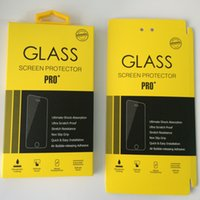 Wholesale Universal D H Tempered Glass Screen Protect Paper Pacakge Packing Boxes For iPhone s plus Samsung Galaxy S5 S6 Edge Tempered Glass