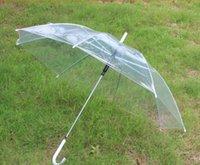 Wholesale 20pcs Apollo fashion pretty clear umbrella transparent colorful trim Dome shape