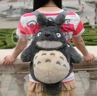 big cat collection - Original Ghibli My Neightbor Totoro Big Cute Totoro Cat Pack Bag Soft Stuffed Animals Plush Toy Doll Birthday Gift Collection