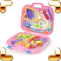 baby nurse games - New Arrival Gift Baby Doctor Pretend Play Toys Medical Set Box Children Cosplay Tool Education Learning Game Nurse Classic Toy