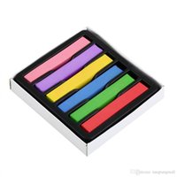 Wholesale 1 set Beautiful dyeing colors hair pins hair hair color chalk crayon hair dye giz pastel giz pastel seco A5