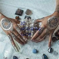 arm ring tattoos - Temporary Tattoos Hot Selling High Quality for Bronzier Flash Tattoo Stickers Metal Color Tattoo Stickers Bracelet Ring