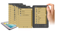 wholesale e book - 7 Inch eBook Reader E book Reader Real GB Super Media Player