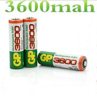 aa battery brands - Brand New riginal GP V NiMh AA mAh Battery Rechargeable AA Batteries pilas recargables free drop shipping