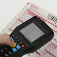 Precio de Inventario libre-¡Envío libre! 1D EAN13 UPCA / E alambre los datos sin hilos del explorador del código de barras Terminal del colector del inventario